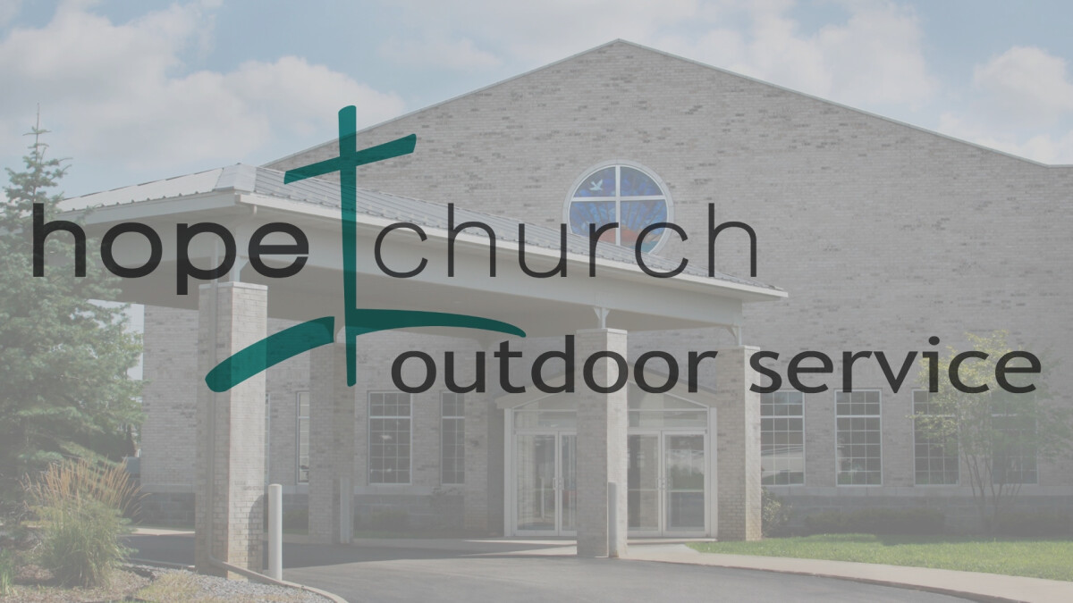 Outdoor Service August 9