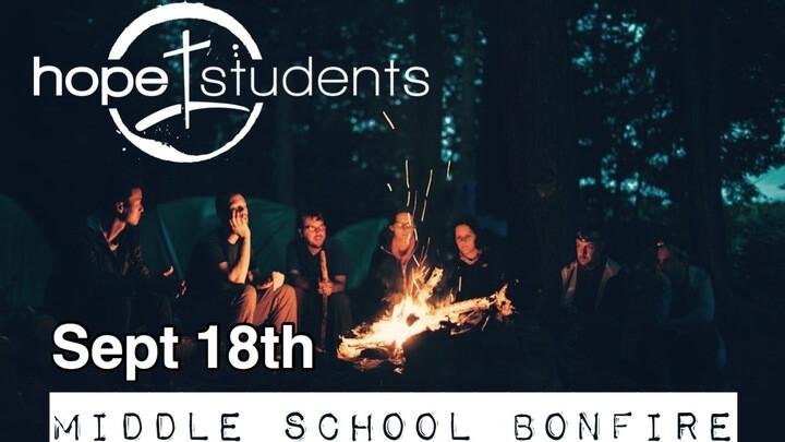 Middle School Bonfire