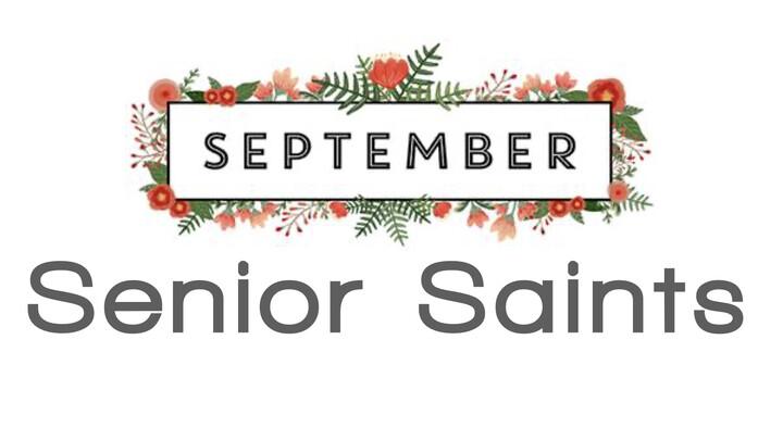 Senior Saints Luncheon