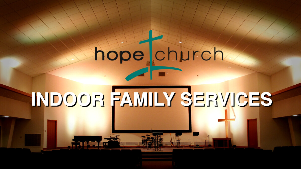 Indoor Family Service April 11