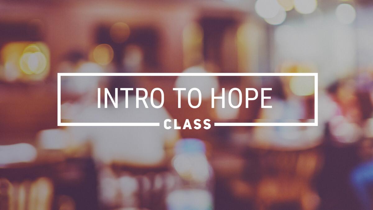 Membership/Intro to Hope Class