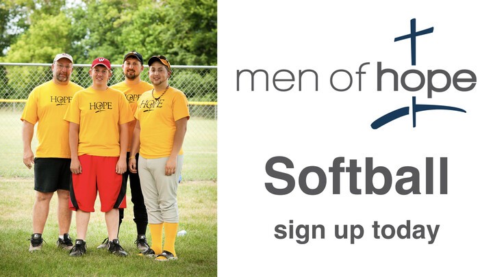 Men of Hope Softball Team