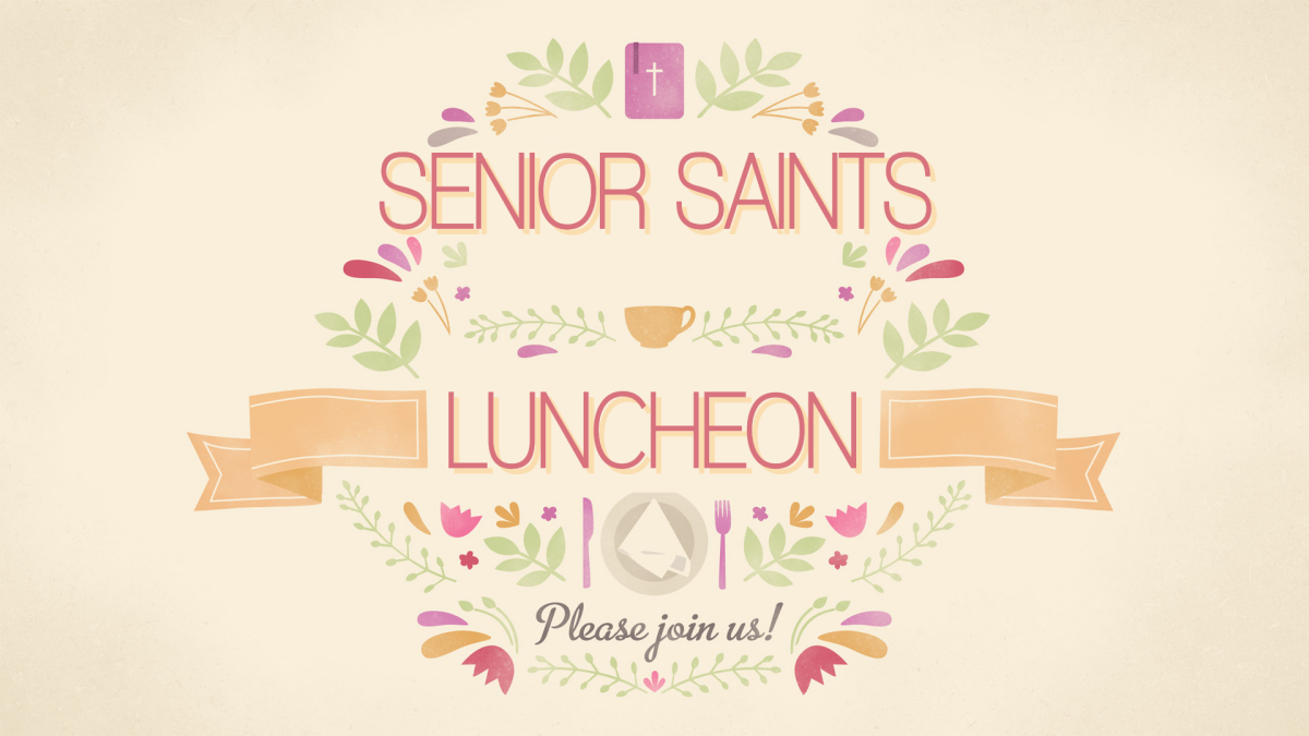 Senior Saints May Cook-out