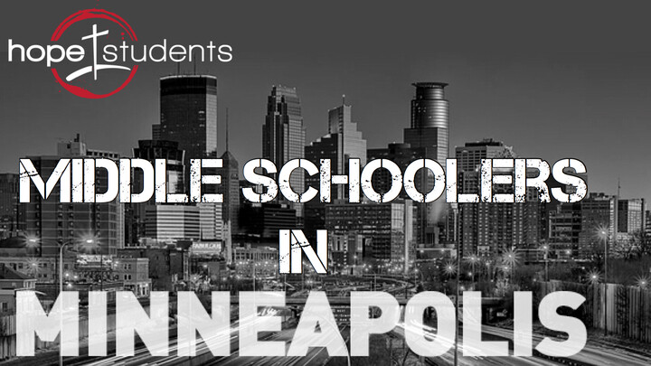 Middle Schoolers in Minneapolis 2021