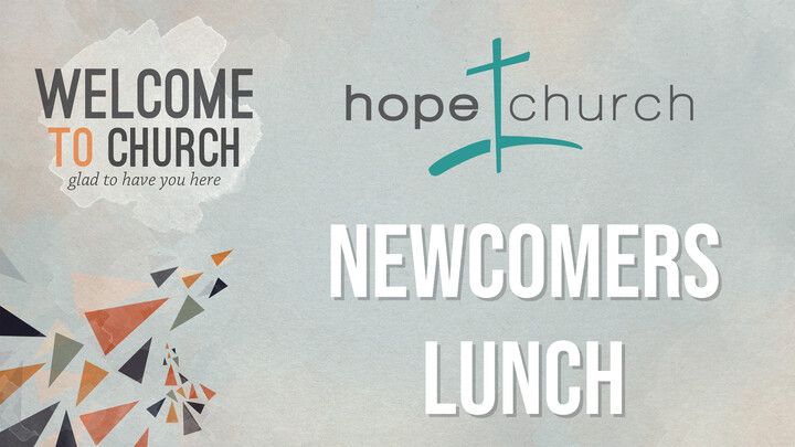 Newcomers Luncheon
